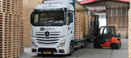 Lapack - Optimale logistiek en efficient hergebruik