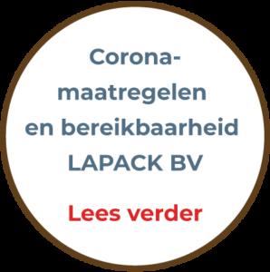Lapack coronamaatregelen